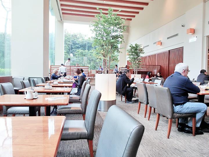 Brasserie regent taipei view