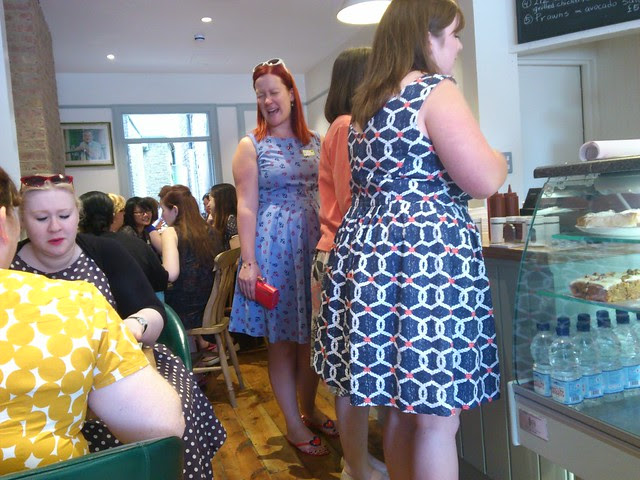 Blue summer dresses galore!