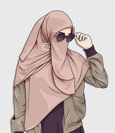 hijab vector images   muslim women face