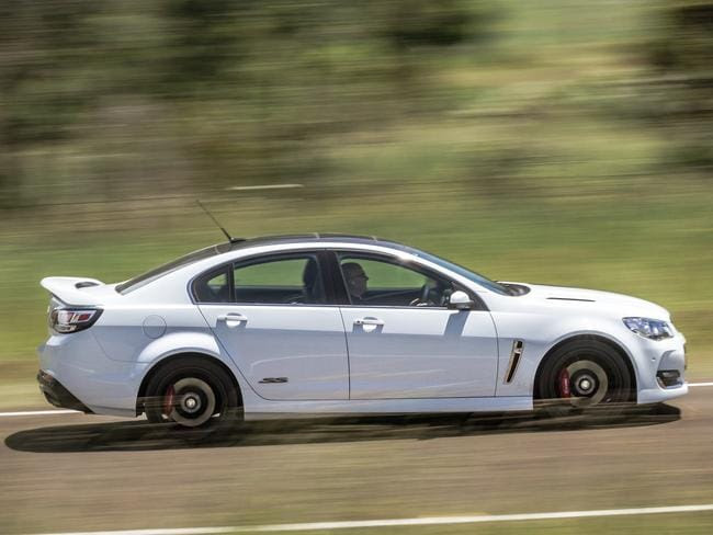 Changing times ... Holden will no longer produce V8s. Picture: Thomas Wielecki