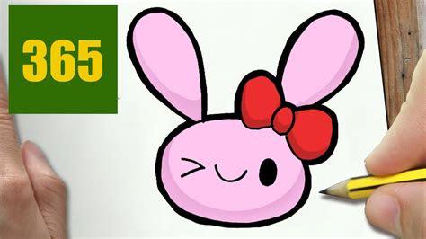 disegnare coniglio kawaii passo dopo passo disegni