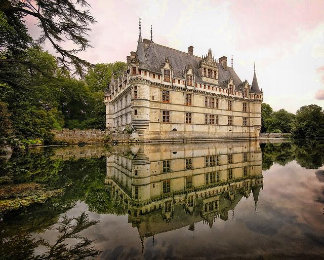 Castillos en el agua Europa