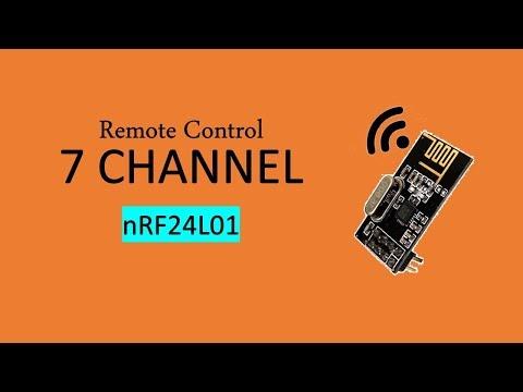 Remote Control 7 Channel nRF24L01
