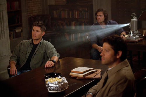 Recap/review of Supernatural 8x22 'Clip Show' by freshfromthe.com