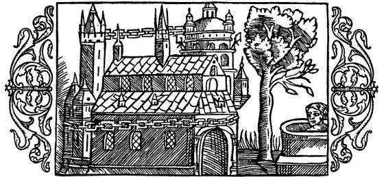 Olaus Magnus Historia om de nordiska folken. Bok 3 - Kapitel 6 - Om ett härligt tempel helgadt åt de nordiska gudarna. - Utgivningsår 1555.