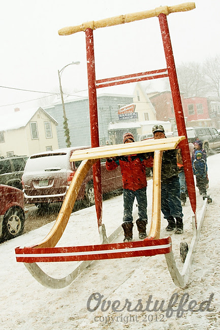 World's Largest Kicksled