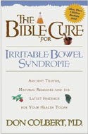 The Bible Cure for Irritable Bowel Syndrome by Don Colbert  ISBN 0884198278