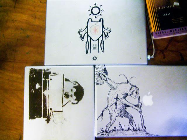 Monkey at a typewriter