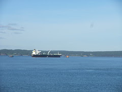 freighter near Saint John
