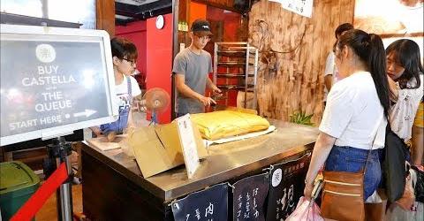 Chính gốc bánh bông lan Đài Loan Castella Cake làm giới trẻ mê mệt