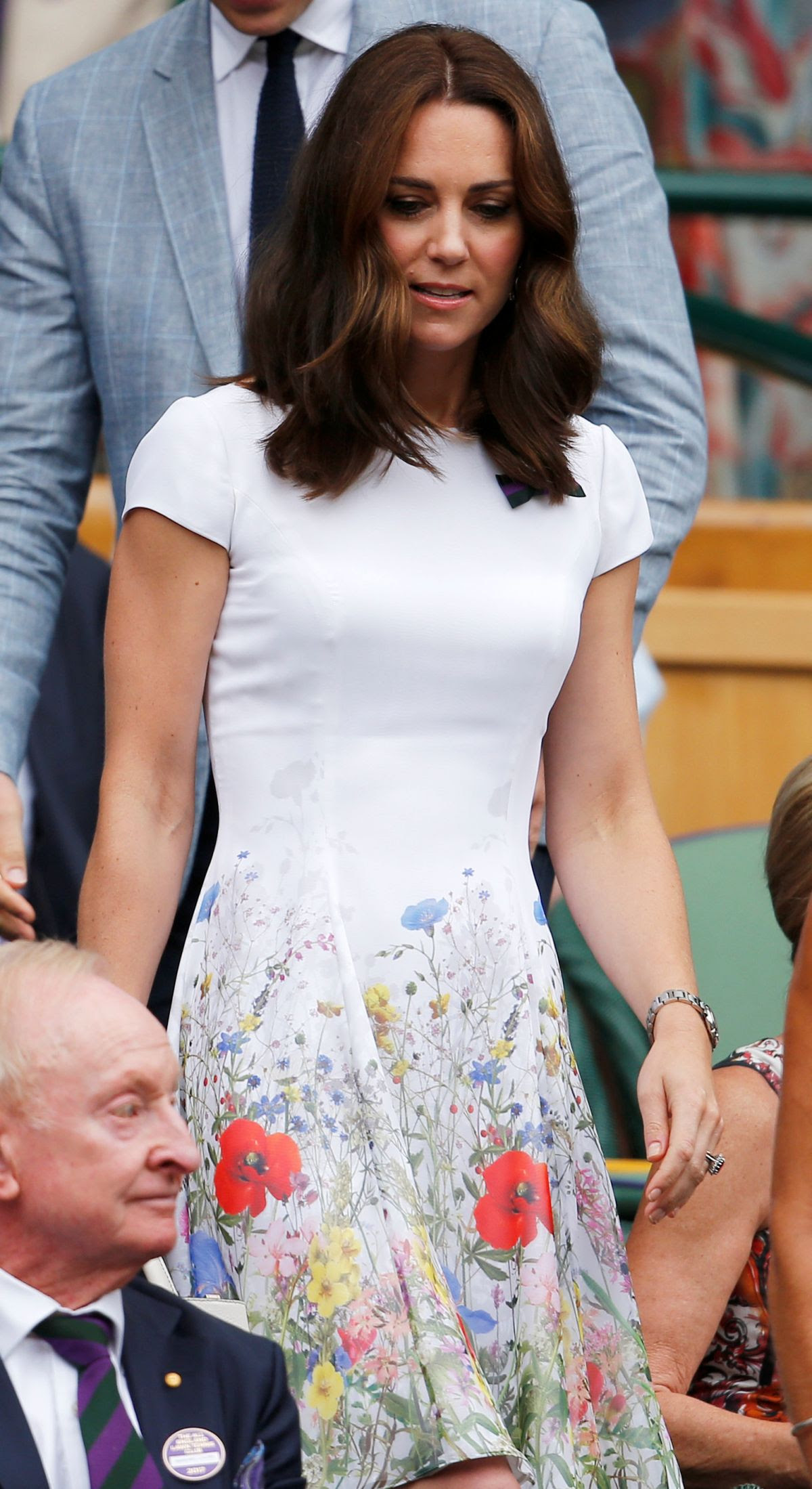 KATE MIDDLETON at Mens Singles Final at Wimbledon Tennis Championships in London 07/16/2017