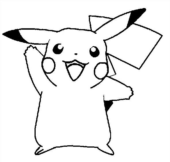 81 Dessins De Coloriage Pikachu à Imprimer Sur Laguerchecom Page 1