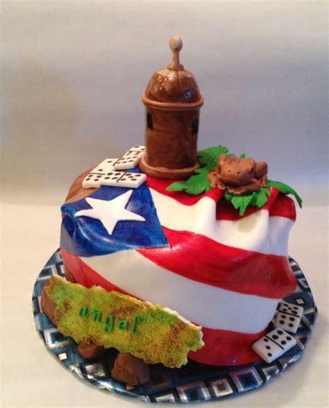 Puerto Rico Birthday Cake   Puerto Rican flag, El Murro
