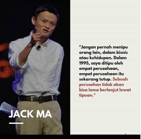 kata motivasi jack ma pendiri alibaba group