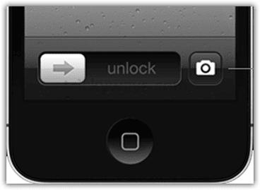 Lock monitor  camera button