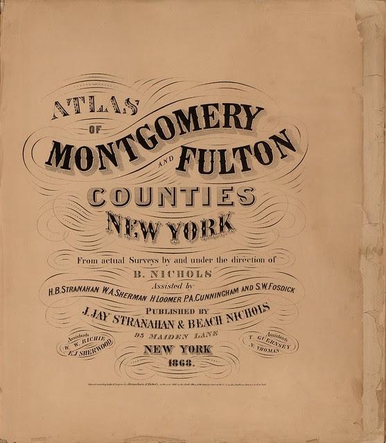 title fonts, map books