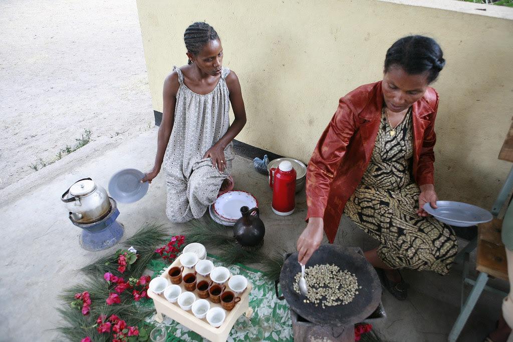 Ethiopian Coffee Ceremony 011