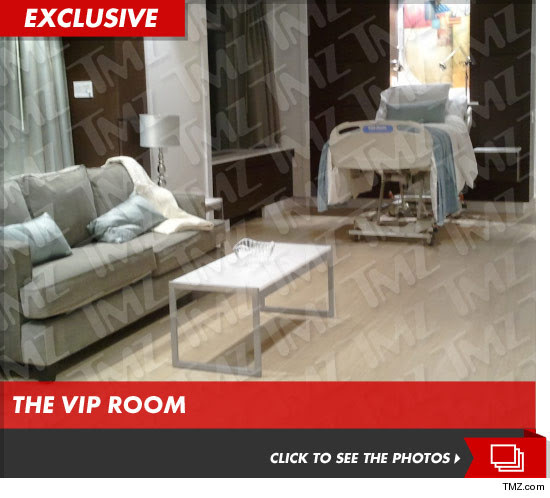 Beyonces hospital suite where she birthed Blue Ivy