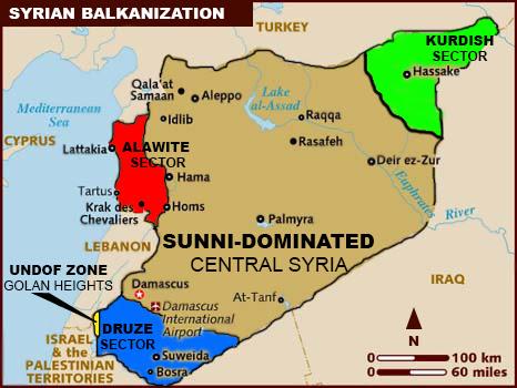ISDA: Τα τρία γενικά σενάρια για την έκβαση της συριακής κρίσης
