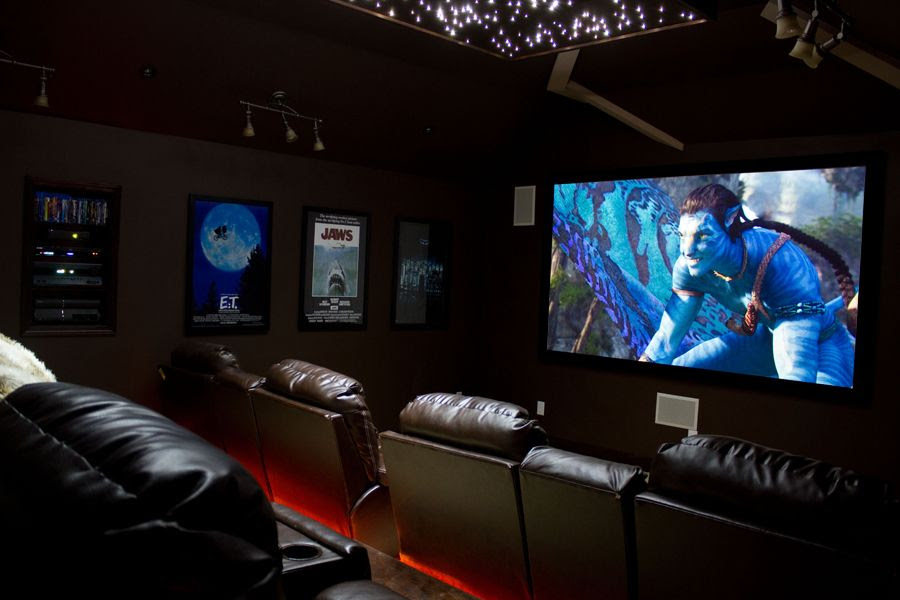 HOME THEATER | HOME THEATER ROOMS | DIY HOME THEATER | Perfectly ...