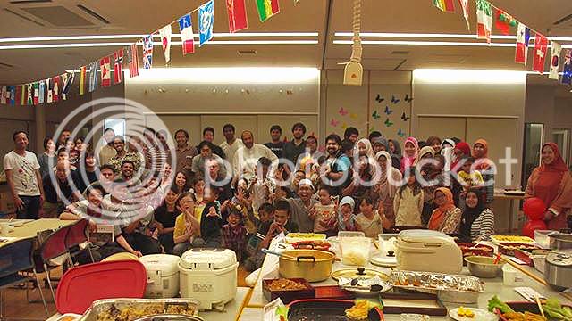 buka bersama, kitakyushu, foto bersama, ifthar, ramadhan