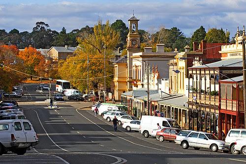 Beechworth, Victoria, Australia, Ford Street, autumn IMG_9901_Beechworth