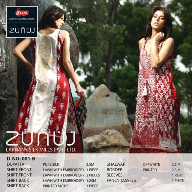 Beautiful-Cute-Girls-Models-Wear-Summer-Eid-Dress-Collection-2013-Lakhani-Silk-Mills-26