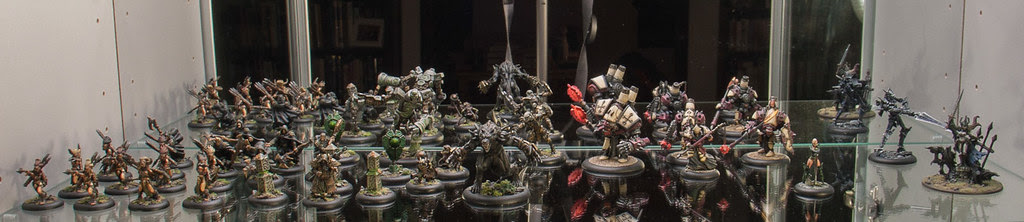 Hordes, Warmachine and Misc figures