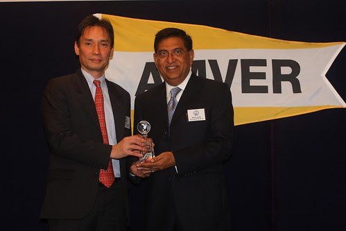 Twenty-Five Year Award Presented to Anglo-Eastern's Mr. V. K. Gupta 1