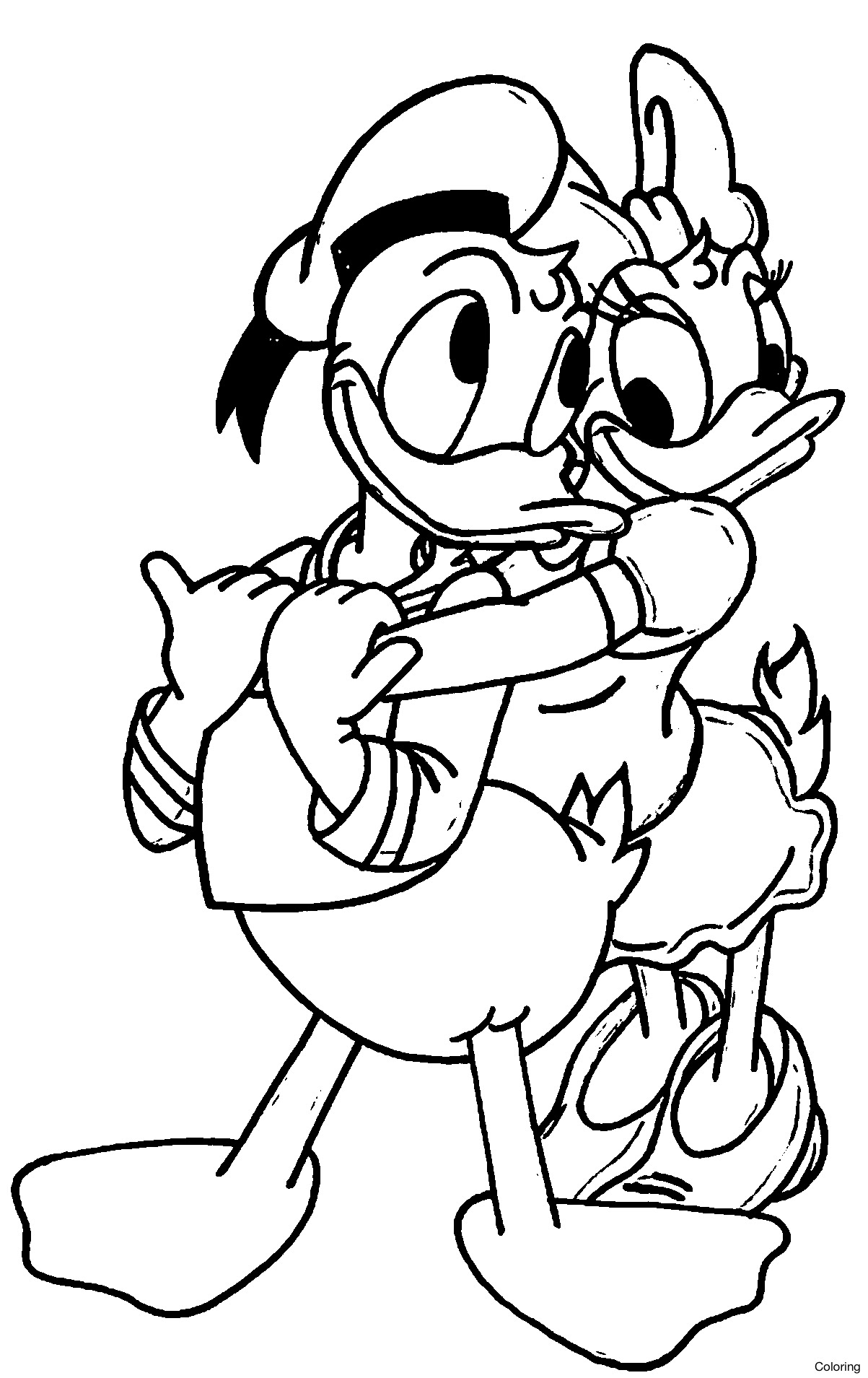 6700 Daisy Coloring Pages Disney , Free HD Download