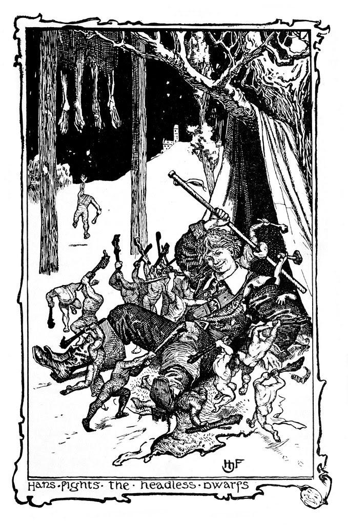 Henry Justice Ford - The violet fairy book, edited by Andrew Lang, 1906 (illustration 16)