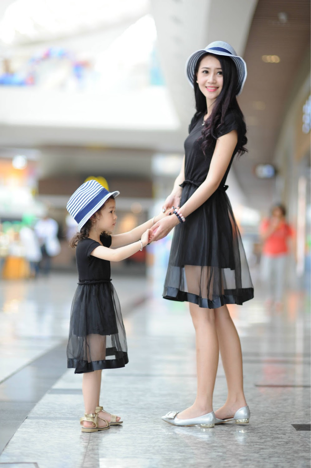 2015 matching mother daughter clothes family look girl and