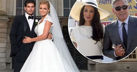 Katherine Jenkins is GLAD that George Clooney and Amal