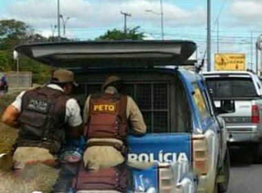 Conquista: PM resgata casal de suposto sequestro; Vítimas passam bem