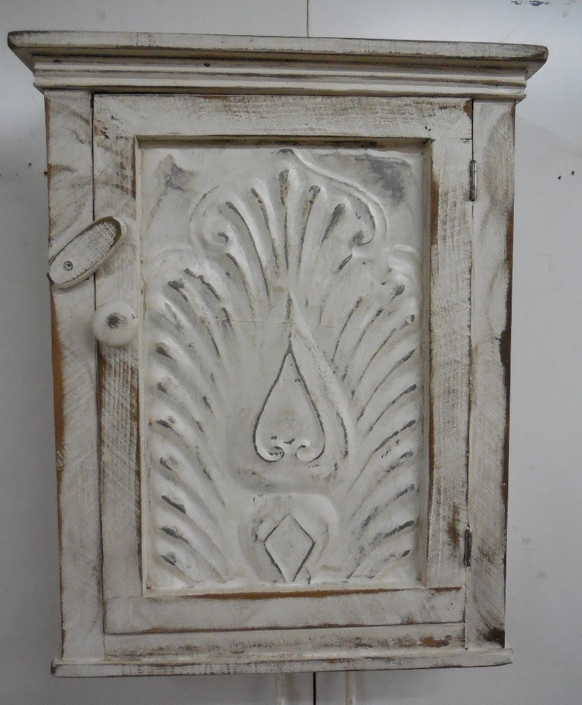 Primitive wall cabinet Primitive kitchen by LynxCreekDesigns