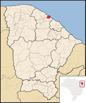 Localização de Paracuru