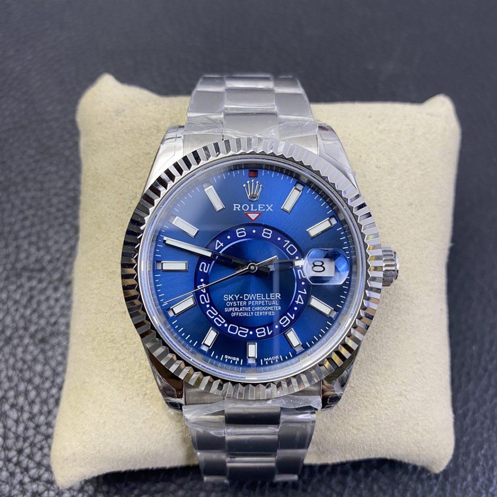Replica Rolex Sky-Dweller Blue