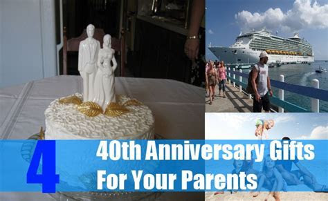 40th Anniversary Gifts For Your Parents   Gift Ideas For
