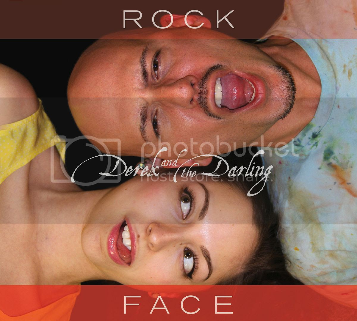 derek and the darling,rock face,cover