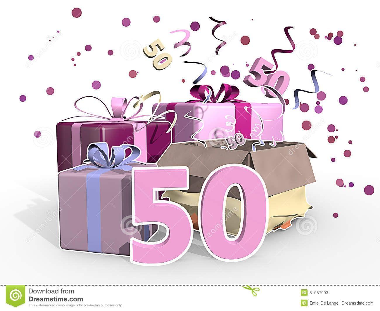 Tarjetas De Cumpleaños Numero 50