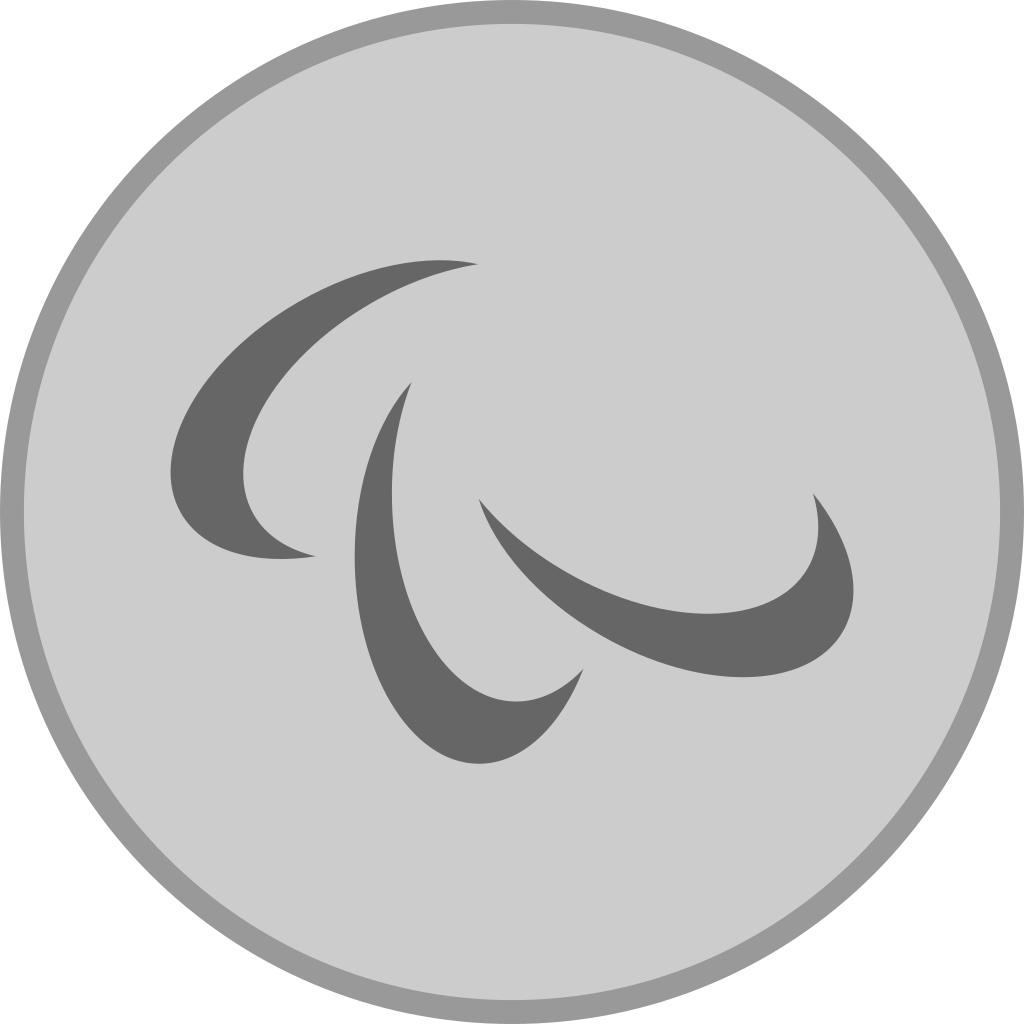 Filesilver Medal Paralympics Svg Wikimedia Commons