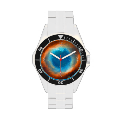Helix Nebula, Eye of God outer space picture Wristwatches