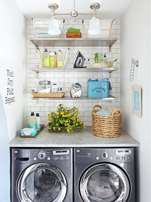 How To Organize and Beautify Your Laundry Room   Home and Event ...