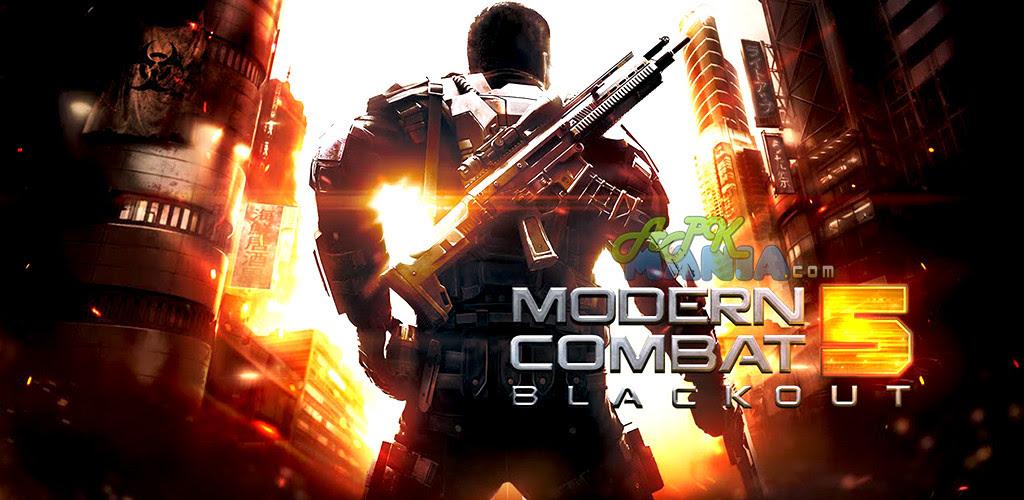 Modern Combat 5: Blackout v1.0.1c APK