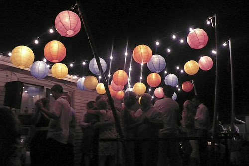 Gorgeous Party Decoration: Outdoor Party Lighting Decoration Ideas