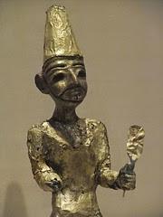 Figurine of the Canaanite God El from Megiddo ...