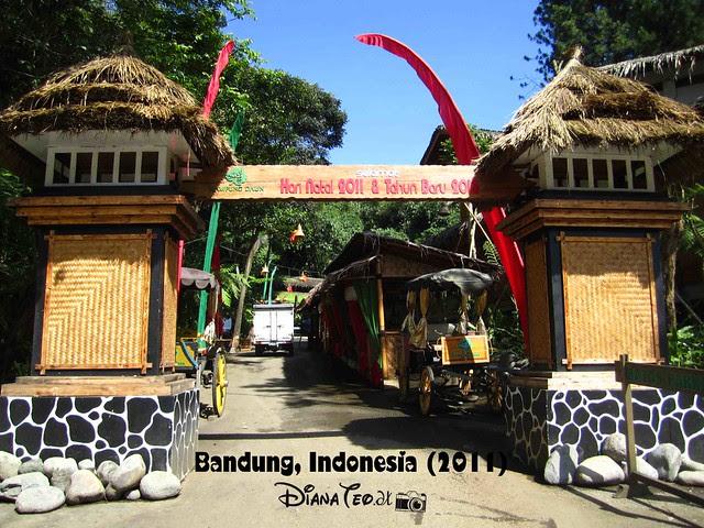 Day 3 - Bandung Kampung Daun Cafe 01