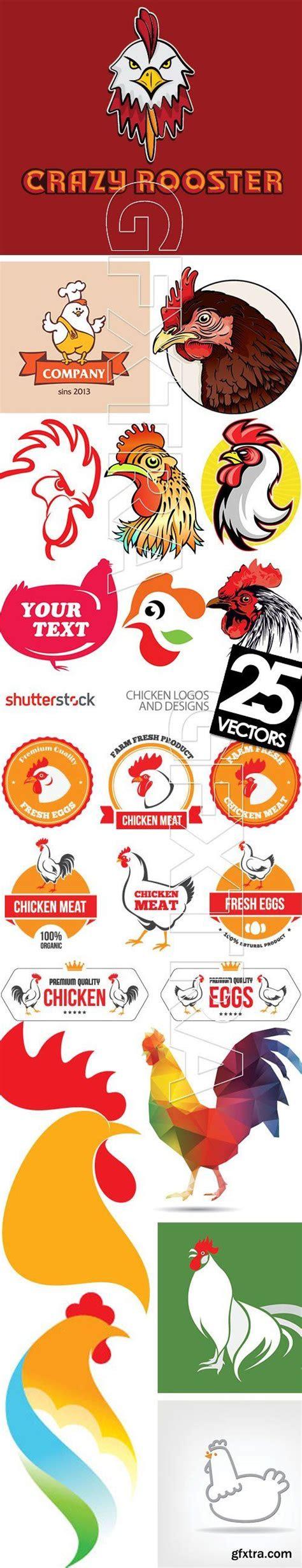 chicken logos designs xeps ads pinterest design