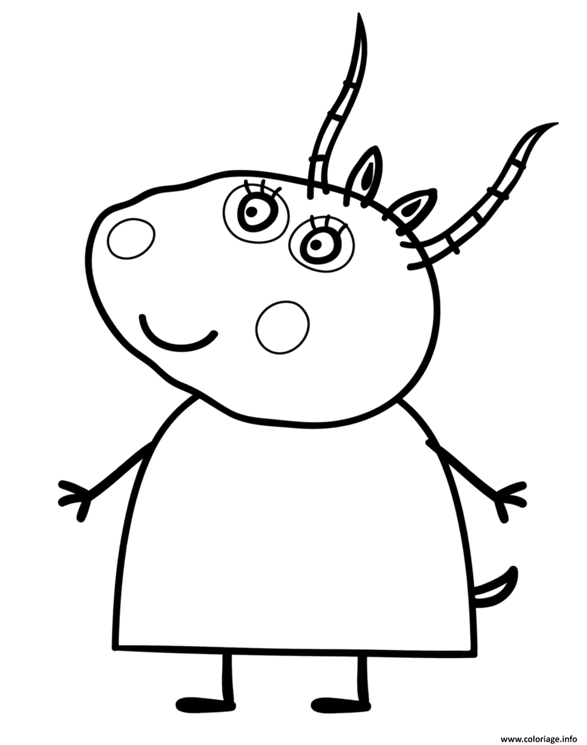 affordable coloriage peppa pig dessin imprimer with coloriage peppa pig