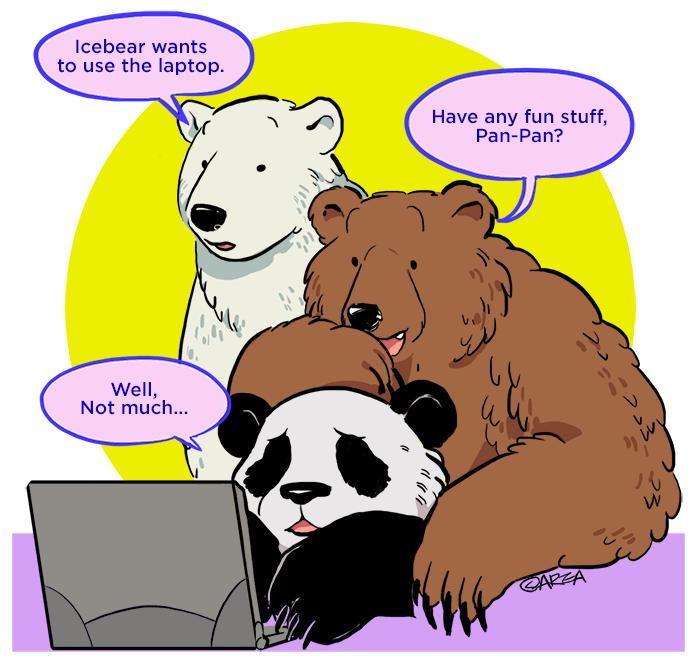 [We Bare Bears] Bros
